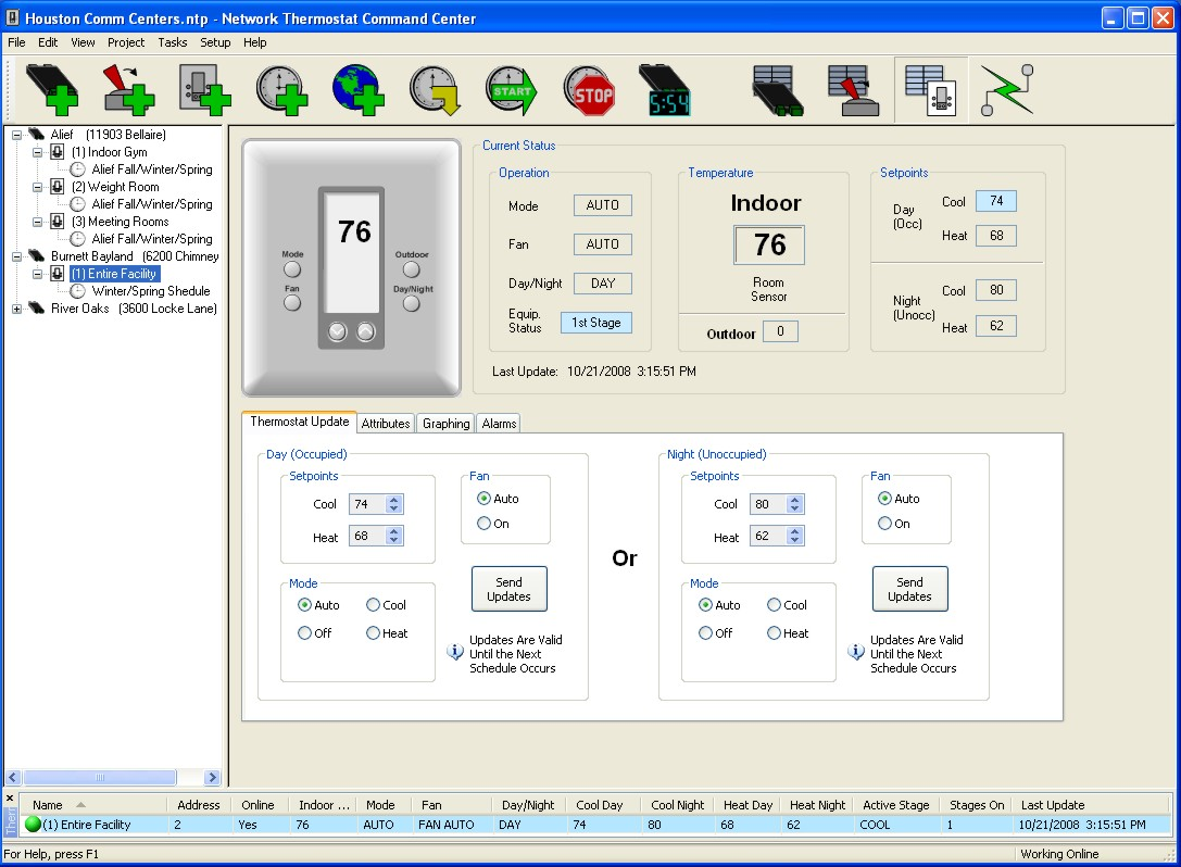 Computer Controlled Thermostats For An Even Greater Level Of Control Wired Network Diagram Heat Single Thermostat Window
