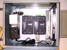 Computer controlled thermostats for zoning control